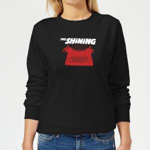 The Shining Red Typewriter Women's Sweatshirt - Black