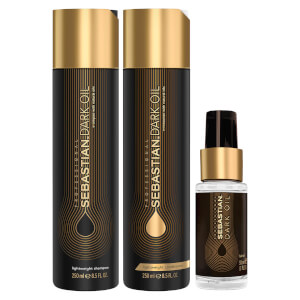 Sebastian Professional Dark Oil Frizz Taming Bundle (Worth $73)