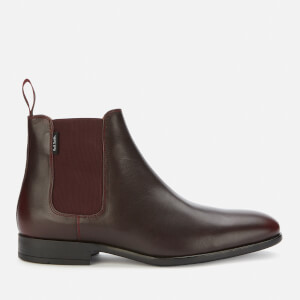 PS Paul Smith Men's Gerald Leather Chelsea Boots - Burgundy