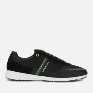 PS Paul Smith Men's Huey Running Style Trainers - Black