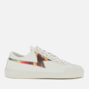Paul Smith Women's Ziggy Leather/Suede Low Top Trainers - White