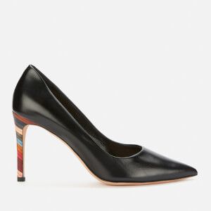 Paul Smith Women's Annette Swirl Leather Court Shoes - Black