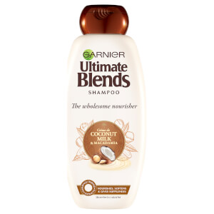 Garnier Ultimate Blends Coconut Milk Dry Hair Shampoo 360ml