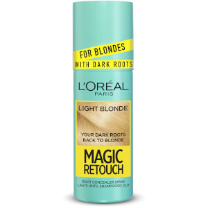L'Oréal Paris Magic Retouch Temporary Root Concealer Spray - Light Blonde Dark Roots 9.3 75ml