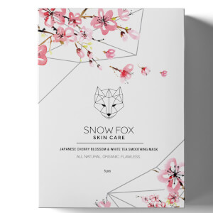 Snow Fox Japanese Cherry Blossom and White Tea Smoothing Mask 25ml