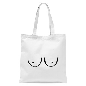 Boobs Tote Bag - White