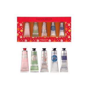 L'Occitane 5PC Hand Cream Collection (Worth $60.00)