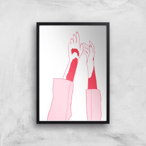 Hands In The Air Art Print