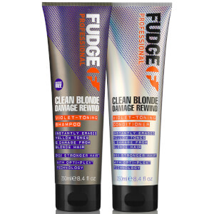 Fudge Clean Blonde Damaged Rewind Duo 2 x 250ml