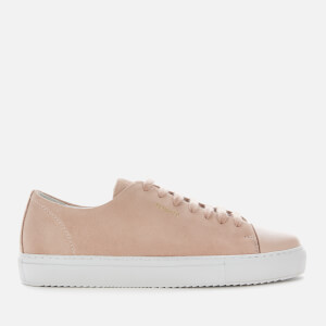 Axel Arigato Women's Cap-Toe Suede Low Top Trainers - Pale Pink