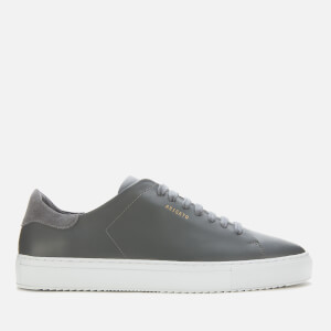 Axel Arigato Men's Clean 90 Leather Cupsole Trainers - Dark Grey