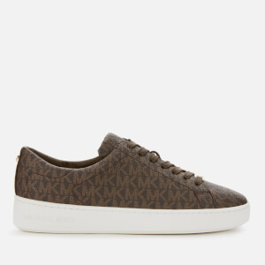 MICHAEL MICHAEL KORS Women's Keaton Low Top Trainers - Brown