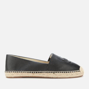 MICHAEL MICHAEL KORS Women's Dylyn Leather Espadrilles - Black