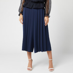 Ted Baker Women's Olloh Front Pleated Culotte - Navy