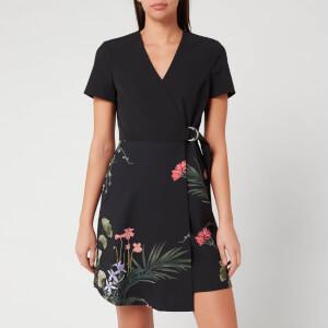 Ted Baker Women's Mizalia Highland Wrap Front Dress - Black