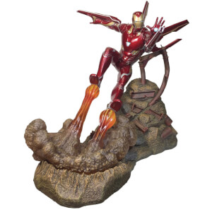 Diamond Select Marvel Premier Avengers 3 Iron Man Mk50 Statue