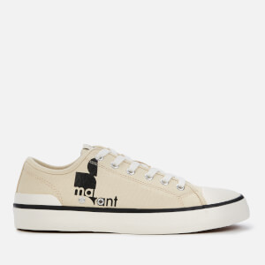 Isabel Marant Women's Binkoo Canvas Low Top Trainers - Chalk