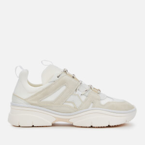 Isabel Marant Women's Kindsay Chunky Running Style Trainers - Chalk