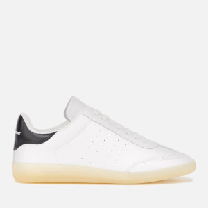 Isabel Marant Women's Bryvee Leather Low Top Trainers - Yellow