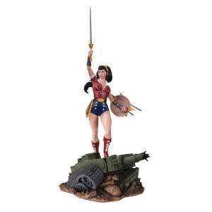 DC Comics Bombshells Wonder Woman Deluxe Statue