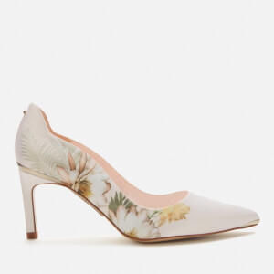 Ted Baker Women's Erwiin Floral Court Shoes - Pale Pink