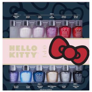 OPI Hello Kitty Limited Edition Infinite Shine 3 Step Nail Polish Mini - 12 Pack