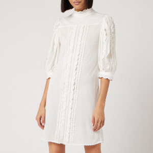 See By Chloé Women's Embroidered Dress - Iconic Milk