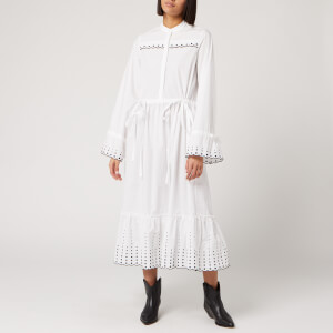 See By Chloé Women's Poplin Dress - White