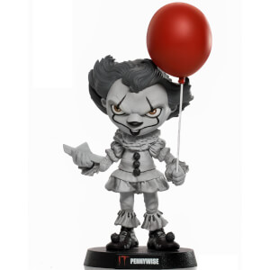 Stautetta in PVC Iron Studios Stephen King's It Mini Co. Pennywise 17 cm -Variante Colore Esclusiva Zavvi