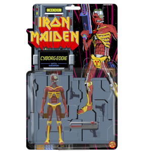 Iron Maiden Cyborg Eddie Fig Biz Action Figure