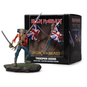 Iron Maiden Legacy of the Beast - Trooper Eddie Figure
