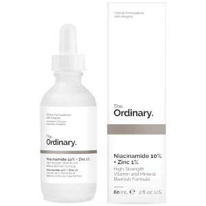 The Ordinary Supersize Niacinamide 10% + Zinc 1% High Strength Vitamin and Mineral Blemish Formula 60ml