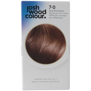 Josh Wood Colour 7 Deep Mid Blonde Colour Kit