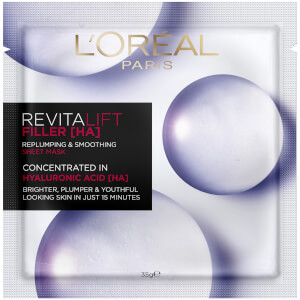 L'Oréal Paris Revitalift Filler [HA] Replumping and Smoothing Sheet Mask 35g