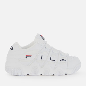 FILA Women's Uproot Trainers - White/Navy/Red