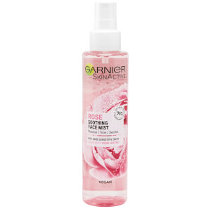 Garnier Natural Vegan Rose Soothing Hydrating Glow Mist 150ml