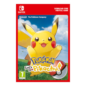 Pokémon: Let's Go Pikachu! - Digital Download