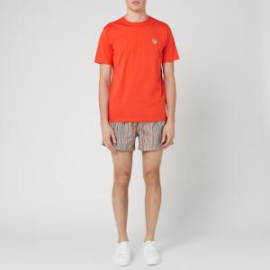 PS Paul Smith Men's Regular Fit Zebra T-Shirt - Orange