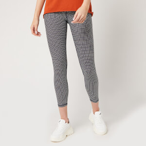The Upside Women's Gingham Midi Pants - Gingham