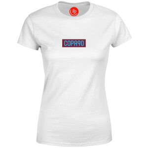 COPA90 Everyday - White/Maroon/Blue Women's T-Shirt