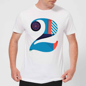 2 Men's T-Shirt - White