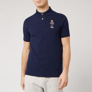 Polo Ralph Lauren Men's Bear Logo Polo Shirt - Cruise Navy