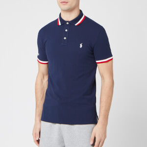 Polo Ralph Lauren Men's Tipped Sleeve Logo Polo Shirt - Cruise Navy/Multi