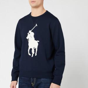 Polo Ralph Lauren Men's Large Logo Sweatshirt - Aviator Navy