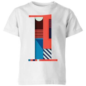 1 Kids' T-Shirt - White