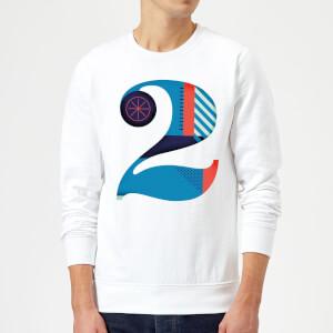 2 Sweatshirt - White
