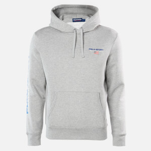 Polo Sport Ralph Lauren Men's Pop Over Hoodie - Andover Heather