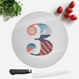 3 Round Chopping Board