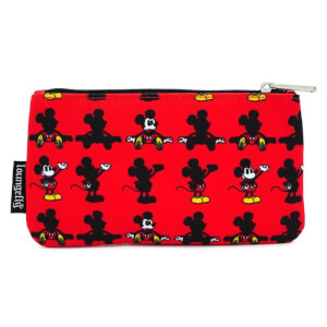 Loungefly Mickey Parts AOP Nylon Pouch