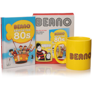 Beano Book and Mug Gift Set - Best of the 80s